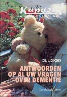 Dr. L. De Cock - vragen over dementie