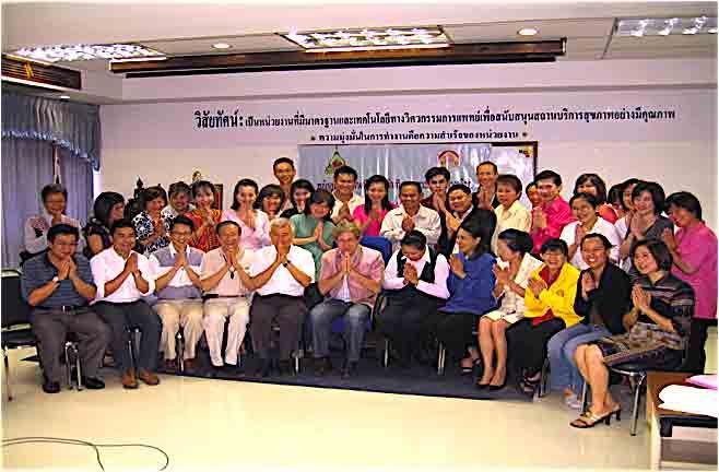 Opleidingsproject Homeopathie Thailand - de studenten