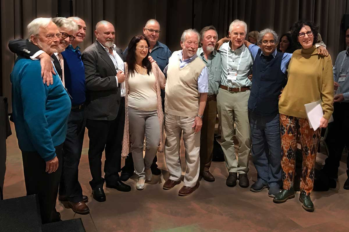Sprekers Homeopathy One: Bill Gray, Massimo Mangialavori, Jan Scholten, Marcelo Candegabe, Michal Yakir, Jeremy Sherr, Misha Norland, Frederik Schroyens, Jonathan Hardy, Rajan Sankaran, Laurie Dack