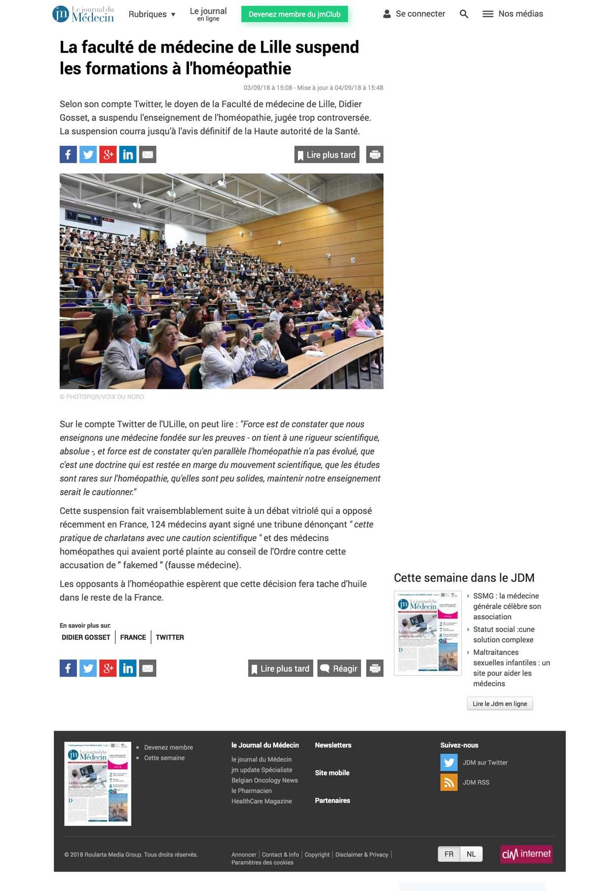La-faculte-de-medecine-de-Lille-suspend-les-formations-a-l'homeopathie---Actualite-le-Journal-du-Medecin.com-S