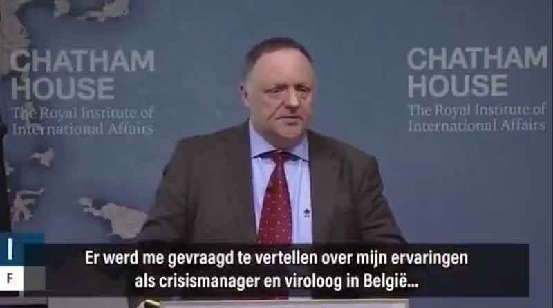 Van Ranst crisimanager en viroloog in Belgi!e